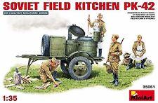 MiniArt 1/35 Soviet Field Kitchen Kp-42 Armour 35061