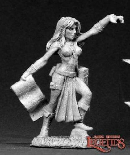 Reaper Miniatures Laurana Sorceress Wizard 02621 Dark Heaven Legends Metal