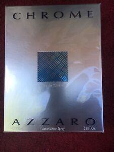 Azzaro-Chrome-Men-039-s-6-8-ounce-Eau-de-Toilette-Spray-100-New-Authentic