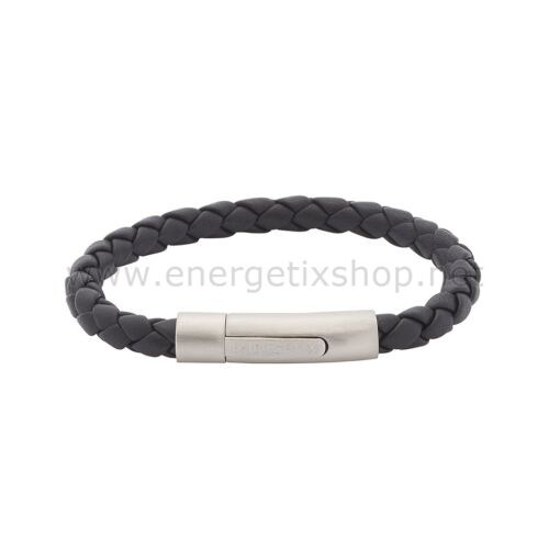 Energetix señoras y señores trenzas de cuero imán pulsera collect 3159 S-XXL