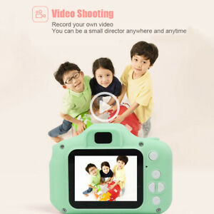 X2-Mini-Digital-Camera-Video-Recording-Camcorders-for-Children-Kids-Baby-Green