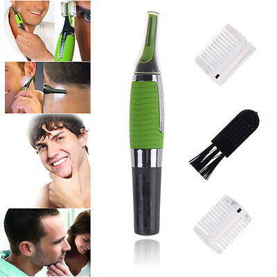 Hot Personal Hair Nose Ear Trimmer Clipper Shaver LED light for Men and Women