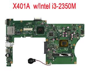 Per ASUS X401A X501A X301A laptop scheda madre con i3-2350M CPU SLJ8E HM76 rev3.0
