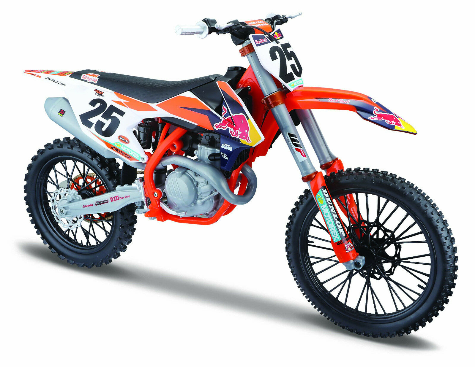 MAISTO 1 6 KTM 450 SX-F RED BULL Supercross Racing MOTORCYCLE BIKE DIECAST MODEL