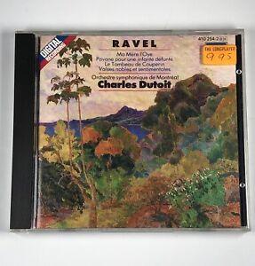 Ravel-Orchestral-Works-Dutoit-1984-Decca-Dutoit-Classical-Music-CD