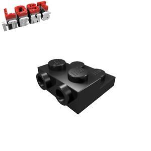 schwarz 10 x LEGO Platte 2 x 2 x 2/3 mit 2 seitlichen Noppen 99206 neu