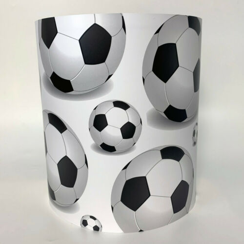Children S Boy S Lighting Black White Football Ceiling Light Or Lampshade Sfhs Org