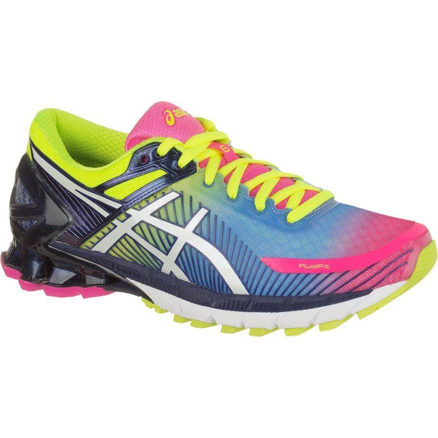 Asics Gel Kinsei 6 (T694N-3401) (Hot Pink   White   Flash Yellow) Womens Running