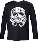 Star Wars Kids Unisex Stormtrooper Word Play Long Sleeved T-shirt 98/104 Black