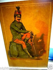 Hold To Light Postcard MARS Mythology God of War Roman Soldier to c.1908 Soldier