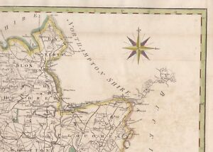 1806 John Cary Folio Map Oxfordshire England Camden S