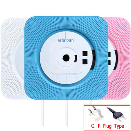 Ariapan CD Player Wall hanging Bluetooth FM radio USB mp3 3 colors 220V