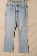 F1759 Lucky Brand 156 Peanut Killer Fade Low Rise Flare Jeans Women's 27x33