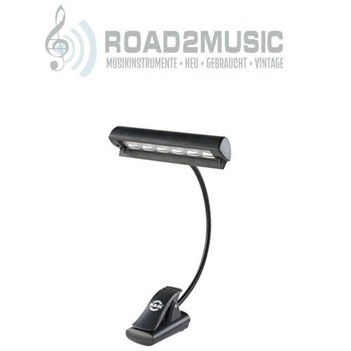 König /& Meyer K/&M 12248 Notenpulteuchte Concert Light LED klemmbar /& Tasche