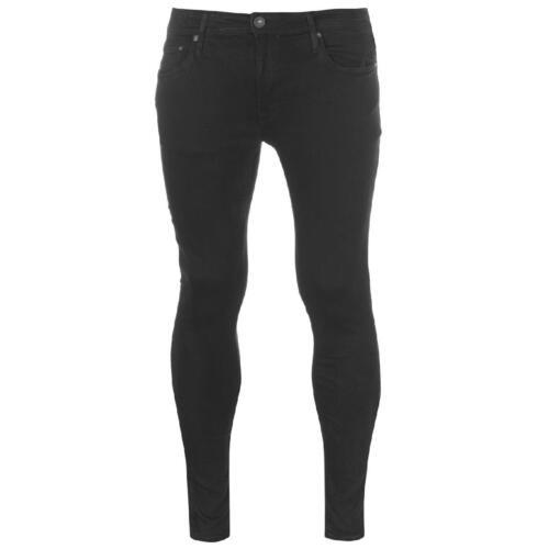 Jack And Jones Jeans Uomo Pantaloni Denim Jeans Pantaloni tempo libero COMFORT SKINNY FIT 74