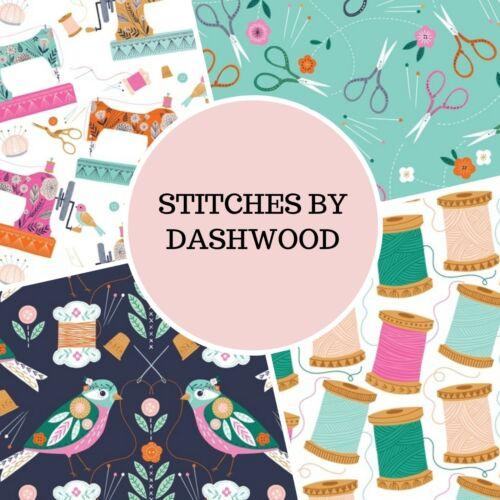 DASHWOOD STITCHES CHOICE OF 4 DESIGNS PATCHWORK// CRAFT FABRIC 100/% COTTON