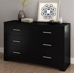 Details about Black Bedroom Furniture Sets Dresser Nightstands Chest  Dressers Drawer Set NEW