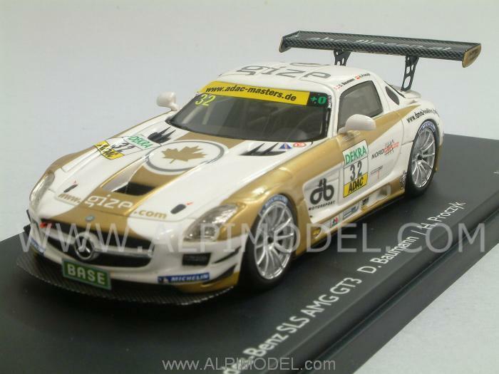 Mercedes SLS AMG GT3 ADAC Nurburgring Baumann - Procz 1 43 SCHUCO 450882300