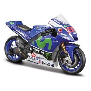 Yamaha Factory Racing Team #99 Lorenzo, GP 2016 Maisto Motorrad 1:18