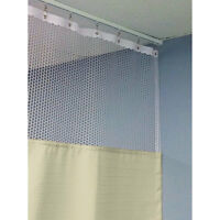 90h Patient Privacy Curtains 84w With 36 X 36 L Track 1 Ea