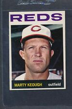1964 Topps #166 Marty Keough Reds Ex/mt