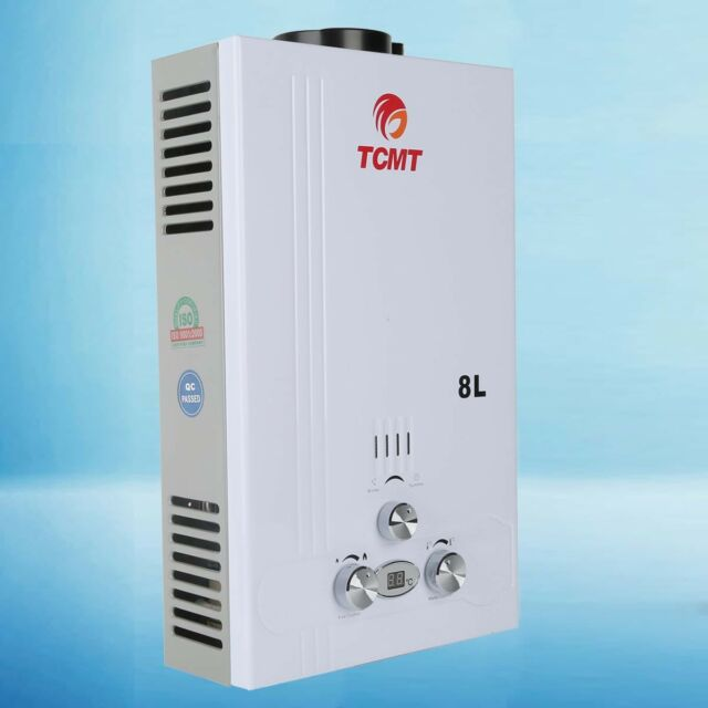 8l LPG Propane Gas 2gpm Instant Bath Hot Water Heater Tankless ...