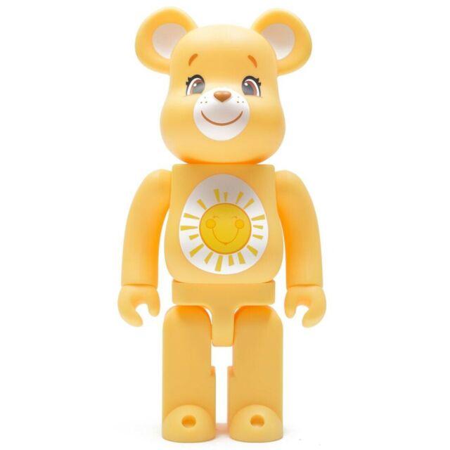 Medicom 100/% Bearbrick ~ Care Bears Be@rbrick Funshine Bear