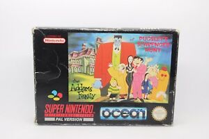 THE-ADDAMS-FAMILY-PUGSLEY-039-S-SCAVENGER-HUNT-SUPER-NINTENDO-SNES-PAL