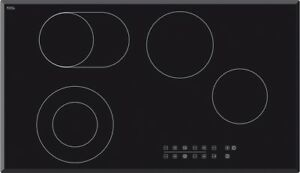 Image Is Loading Baumatic BACE9004 90cm 900mm Ceramic Glass Electric Cooktop