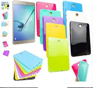 best sneakers 45412 26a95 Details about TPU Silicon Case for Samsung Galaxy Tab E 8.0 SM - T377V /  T377 / T375 / T377P