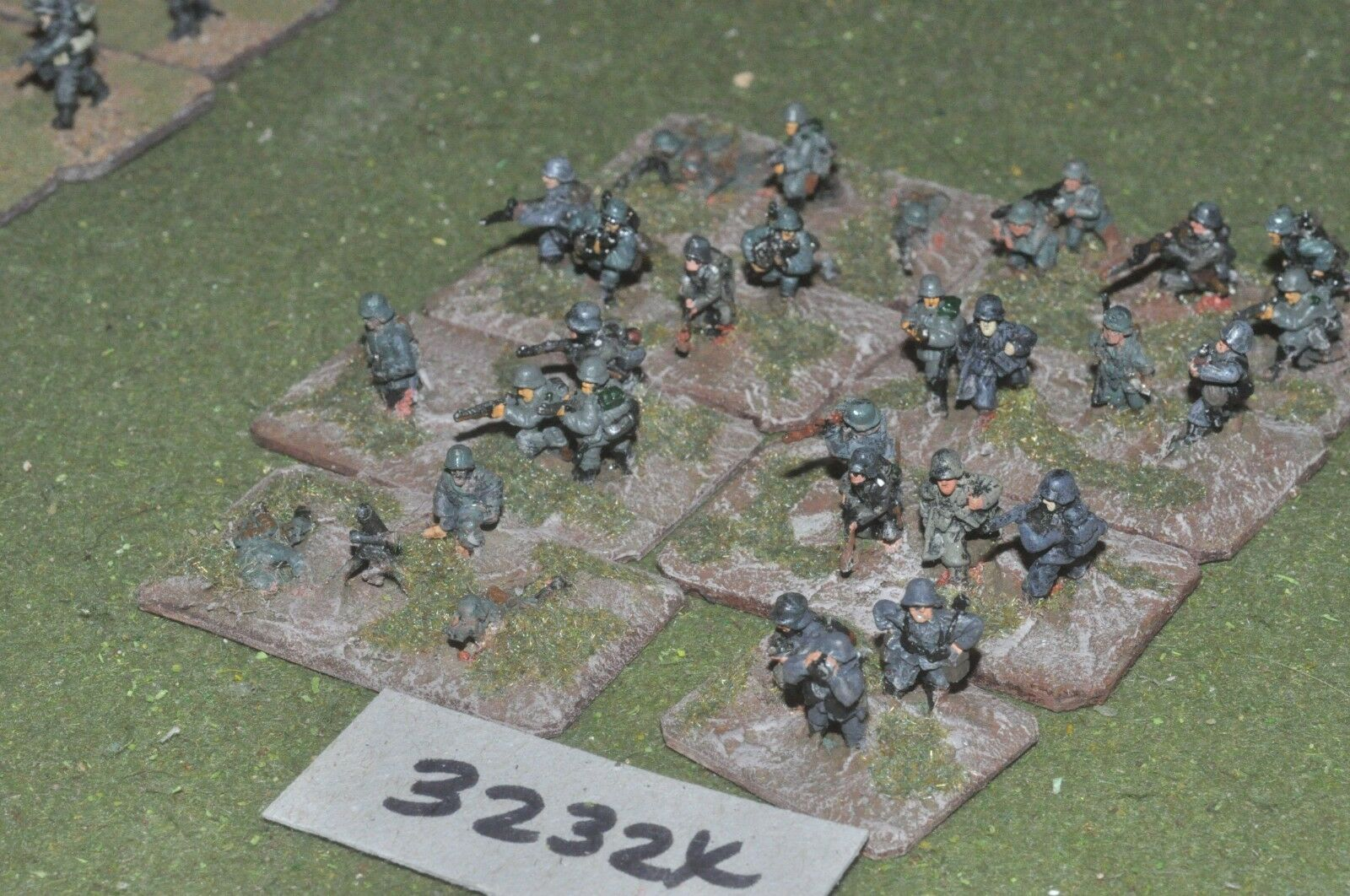 15mm WW2   german - section 30 figures - inf (32324)