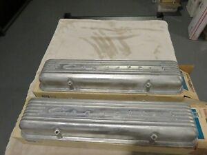56-57-58-59-C1-Corvette-Aluminum-Valve-Covers-GM-NOS-3726086-in-GM-Box-NCRS
