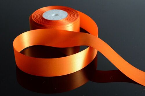 Satin Ribbon Rolls Reels 25mm 15mm 10mm 38mm 6mm Widths Double Sided 25 Metres