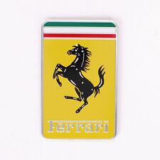 Car Emblem Auto Badge Fender Ferrari Logo Rear sticker for California T 488 Enzo