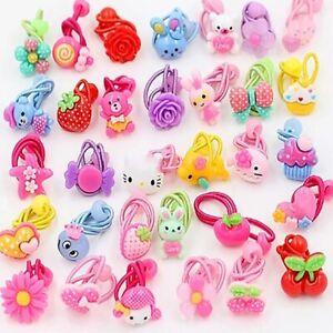 10-Pcs-Kids-Elastic-Hairband-Girl-Scrunchies-Ponytail-Hair-Ties-Rope-Rubber-Band