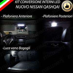 KIT-LED-INTERNI-SPECIFICO-PER-NISSAN-QASHQAI-J11-CON-TETTO-PANORAMICO-CANBUS
