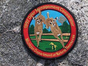 1997-Michigan-Original-DNR-Successful-Deer-Hunter-Patch