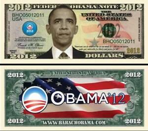 President-Obama-2012-Dollar-Bill-Play-Funny-Money-Novelty-Note-FREE-SLEEVE