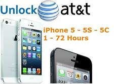iPhone 5, 5S, 5C - AT&T FACTORY UNLOCK CODE SERVICE - 100% GUARANTEE CLEAN IMEI
