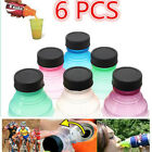 New 6Pcs/Set Tops Snap On Pop Turns Soda Beer Can Bottle Caps Reusable