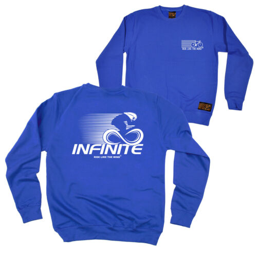 FB Cycling Sweatshirt Infinite Novelty Birthday Christmas Gift Sweater Jumper