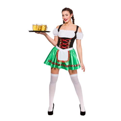 Oktoberfest Beer Girl German Festival Womens Ladies Adults Fancy Dress Costume