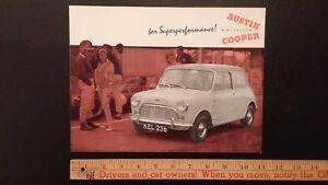1961-AUSTIN-Mini-Dealer-Sales-Folder-Brochure-Excellent-Condition-UK