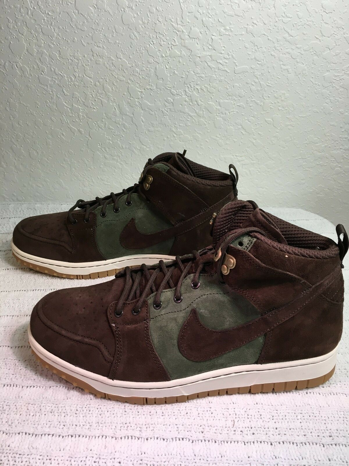 NIKE DUNK 10 CMFT WB ARMY OLIVE/BROWN MEN SIZE 10 DUNK NEW 805995 300 ec161f