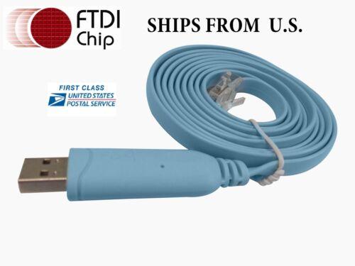Cisco Console Cable USB RJ45  for CCNA CCNP CCIE LAB KIT 300-101
