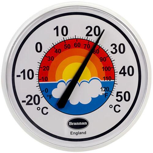 Brannan 300 mm Arc-en-cadran Thermomètre