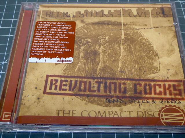 REVOLTING COCKS * Beers, Steers + Queers * NM (CD)