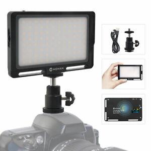 Moman-On-Camera-LED-Camera-Video-Color-Light-Panel-4-5-034-Mini-Filming-Lighting