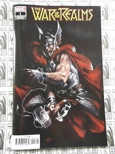 War-of-the-Realms-2019-Marvel-1-1-10-Gabriele-Dell-039-Otto-Thor-Variant-NM