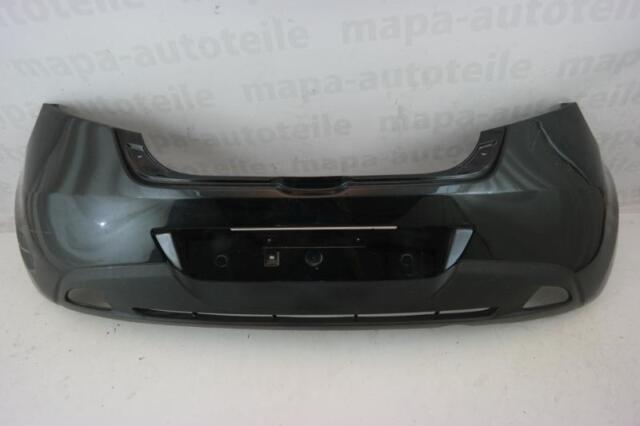 Mazda 2 III Bj. ab 2007 Stoßstange Hinten D651-50221 Schwarz Original Versand